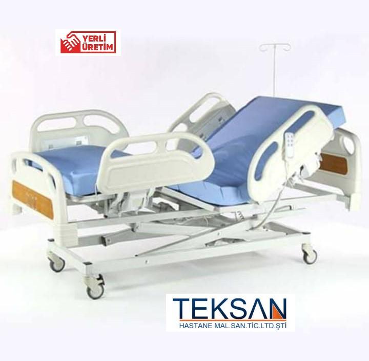 TK-549-4  üç motorlu full abs hasta yatağı